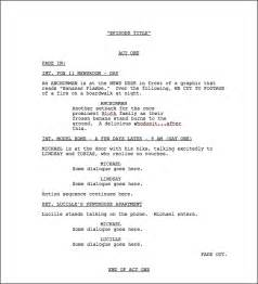 screenplay format template script template playbestonlinegames