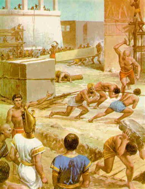 imagenes de egipcios trabajando la esclavitud en roma la oca loca