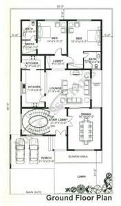 bahria town house floor plans