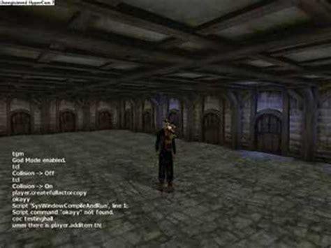 oblivion console commands oblivion codes
