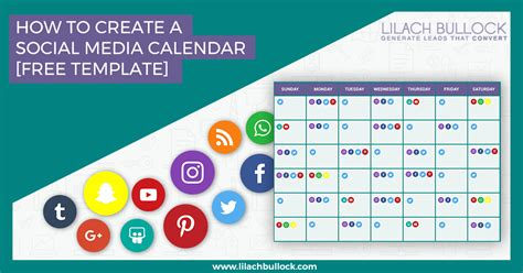 How To Create A Social Media Calendar Free Social Media Calendar Template How To Create A Template In