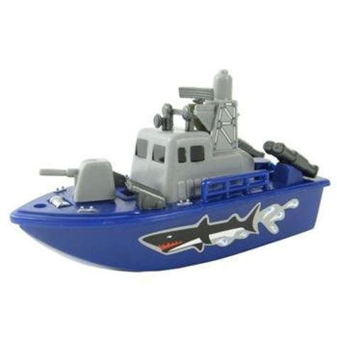 toy boats for the bathtub geekshive 6 quot navy force speed boat w squirting water jet