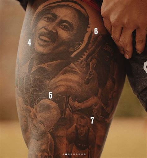 odell beckham tattoo odell beckham jr s features malcolm x