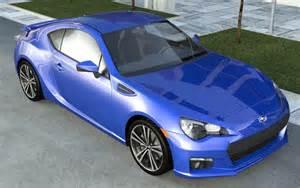 2012 Subaru Brz Subaru Brz Sti 2012 3d Model Max 3ds Cgtrader