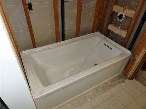 Bathtub Plumbing by Archer Tub By Kohler Terry Plumbing Remodel Diy