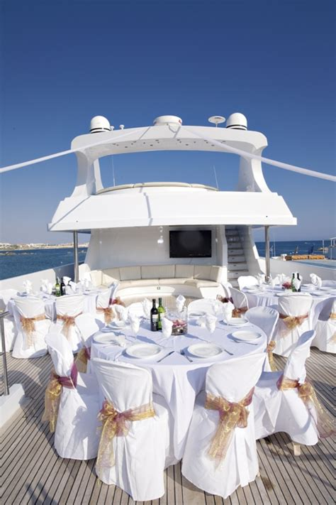 party boat paphos get married and have the reception on a yacht vintage