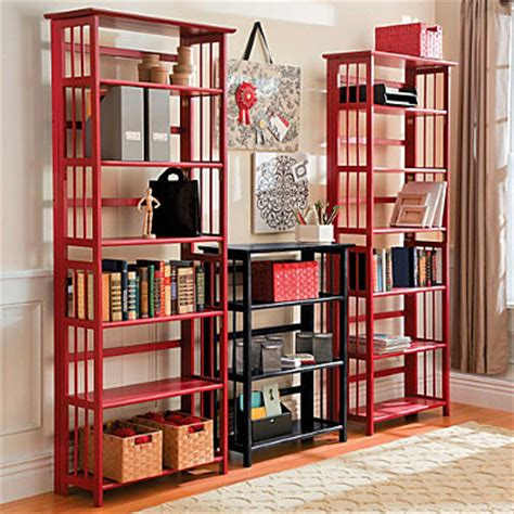 3 tier stackable folding wood bookcase 3 tier folding bookcase contemporary bookcases by