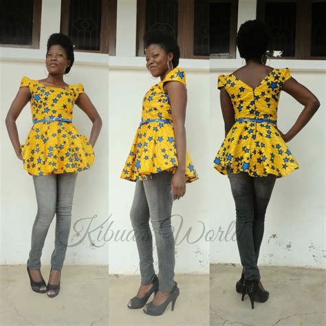 african kitenge tops 17 best images about kibuadesigns on pinterest high