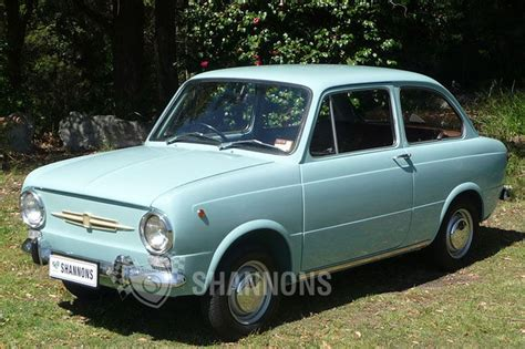 sold fiat 850 2 door sedan auctions lot 2 shannons