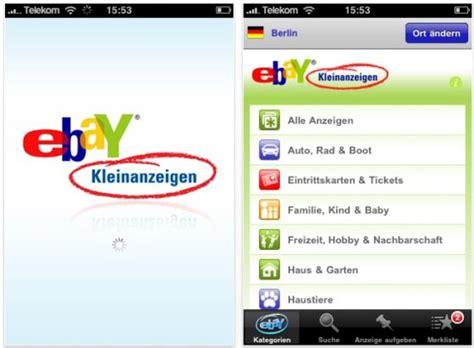 ebay kleinanzeigen len schnell und kostenlos mit der app des tages ebay