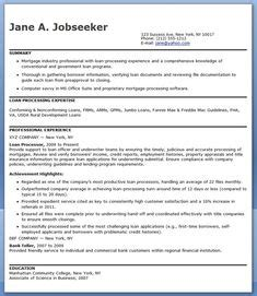 Fha Loan Processor Sle Resume by 1000 Images About All Work No Play On Home Buying Fha Loan And Description