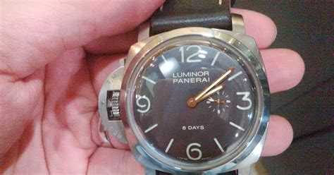 Jam Tangan Panerai Submersible Titanium Biru jam tangan mewah second arloji bekas mewah tas branded second pam 368 n luminor 1950 titanium