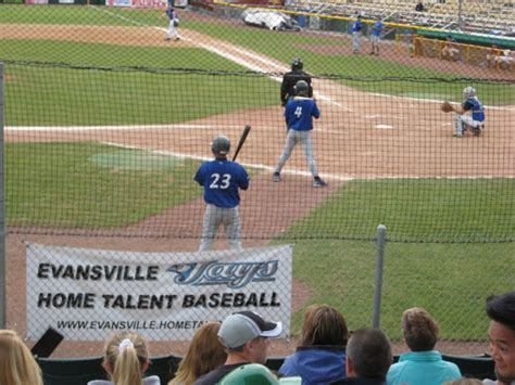 evansville home talent baseball