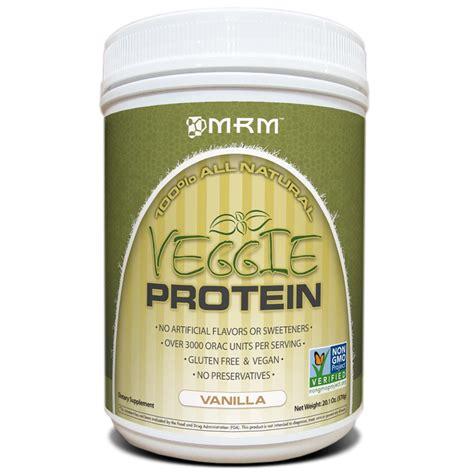 Cap Vanilla 1oz mrm veggie protein vanilla 20 1 oz 570 g iherb