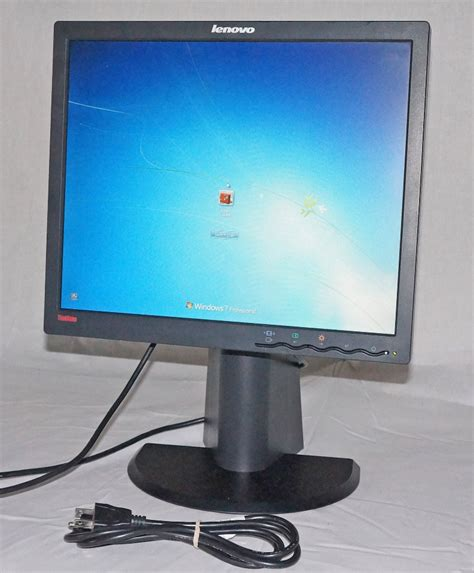 Monitor Lenovo lenovo thinkvision l1700p 17 quot 1280 x 1024 lcd monitor with accessories mdg sales llc