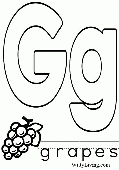 preschool letter coloring pages coloring home