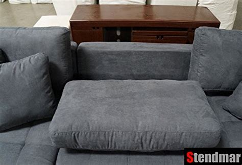 Grey Microfiber 3pc New Modern Grey Microfiber Sectional Sofa Chaise