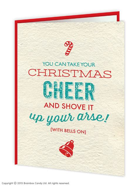 rude christmas cards  people   stand