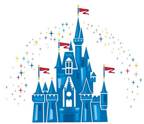 Disney World Castle Outline by Castle Outline Cliparts Co