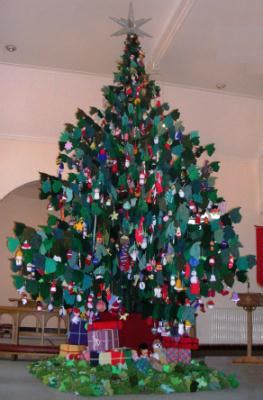 christmas trees at sainsburys network norwich and norfolk knitted tree in norwich for christian care home