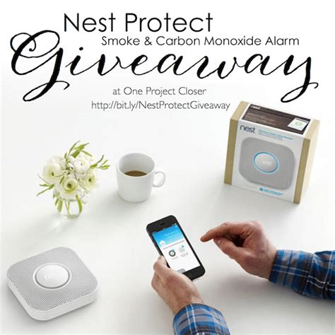 Defend Home Giveaway - nest protect giveaway one project closer