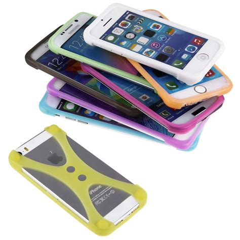 Mickey Soft Tpu Silicon Stand Cover Casing Universal Tablet 7 new universal cell phone bumper soft protective tpu silicone frame ebay