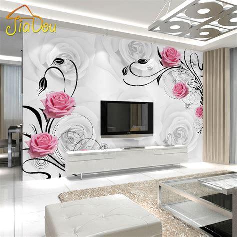 kustom foto wallpaper living room bedroom latar belakang wall decor mawar mural beli murah mawar mural lots from china mawar