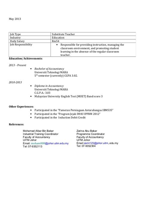 Copy Of Resume For by Cover Letter And Resume Copy