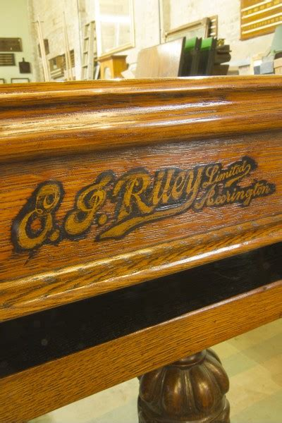ft riley antique refectory snooker dining tablecarved