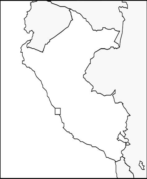 coloring page map of peru abcteach printable worksheet map of peru