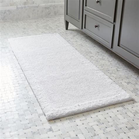 100 cotton reversible large bath mat white bath rugs with brilliant pictures in thailand
