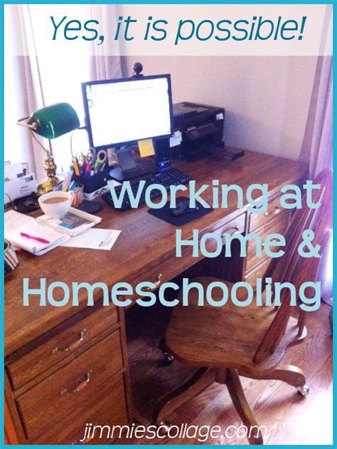 i can t homeschool because i m a work at home