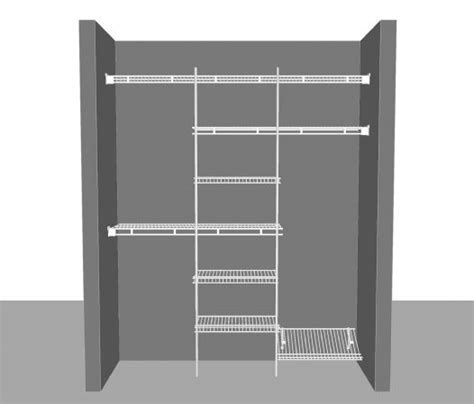 Where To Buy Closetmaid Products Reach In Closet Package 9