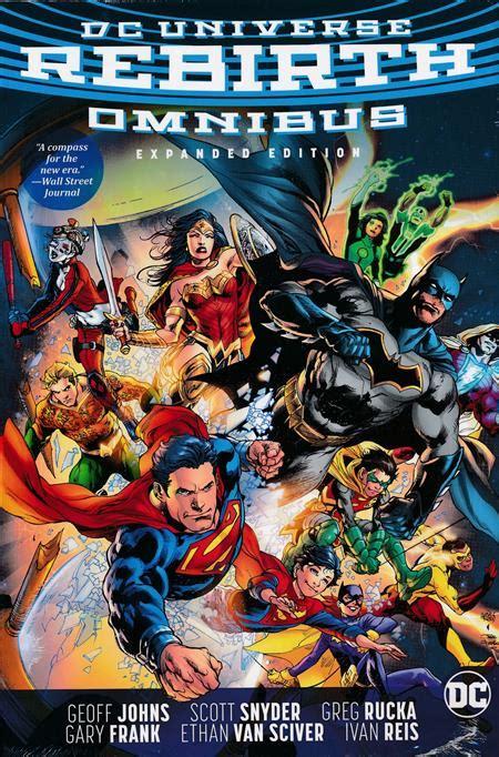 dc universe rebirth omnibus expanded edition hc discount comic book service