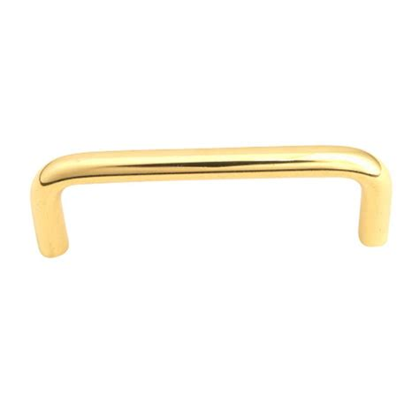 polished brass cabinet pulls giagni 4 in polished brass cabinet pull br 410 040 01