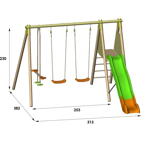 metal swing and slide set buy cheap metal swing set compare outdoor toys prices