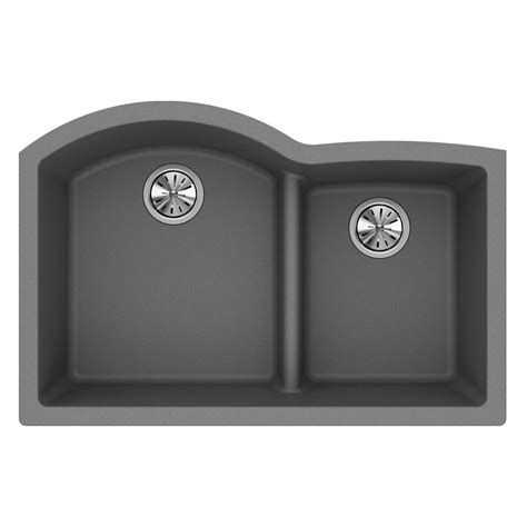 quartz undermount kitchen sinks elkay quartz undermount composite 33 in