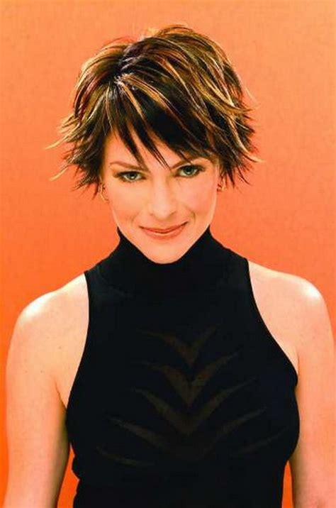 razor cut short hairstyles for women over 50 short sassy haircuts for older women