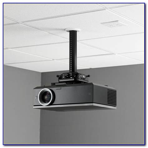 Hanging A Projector Screen From Ceiling Ceiling Home Hanging A Projector From Ceiling