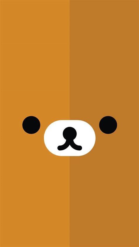 kawaii emoticons wallpaper リラックマ 壁紙 iphone