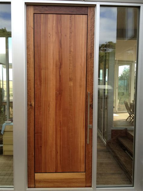 Exterior Doors Melbourne Front Door Flinders House Contemporary Front Doors Melbourne By Jaegerister