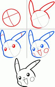 how to draw pikachu s face hellokids com how to draw pikachu s face hellokids com