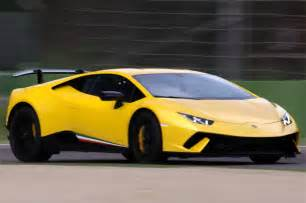 2017 lamborghini huracan performante hits the track on