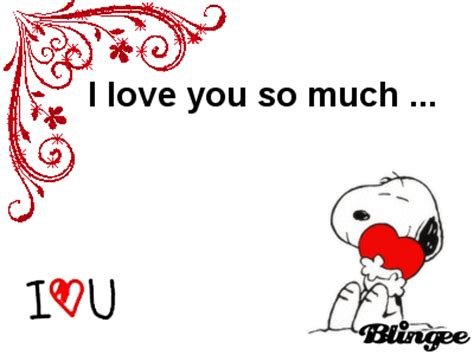 imagenes de i miss you so much i love you so much snoopy picture 104082320 blingee com