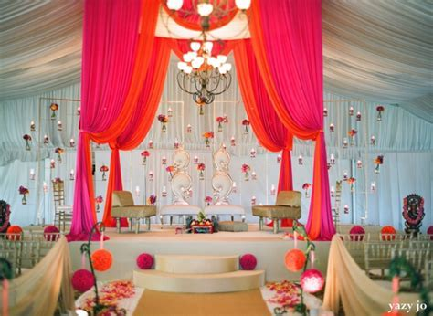 Contemporary Indian Wedding In Pink And White by Yazy Jo