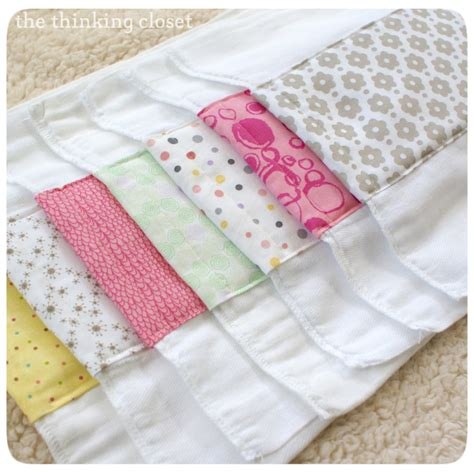 Make Handmade Burp Cloths - burp cloth tutorial on burp cloth patterns