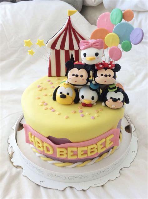Tsum Tsum Birthday Cakes 6 Birthday Cake Disney Tsum Tsum Image Inspiration Of Cake