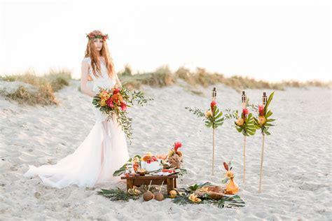 hawaii beach wedding theme burnetts boards inspiration