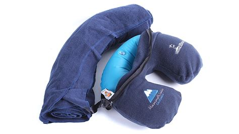 Travel Pillows And Blankets by Every Travel Pillow Should A Fleece Blanket