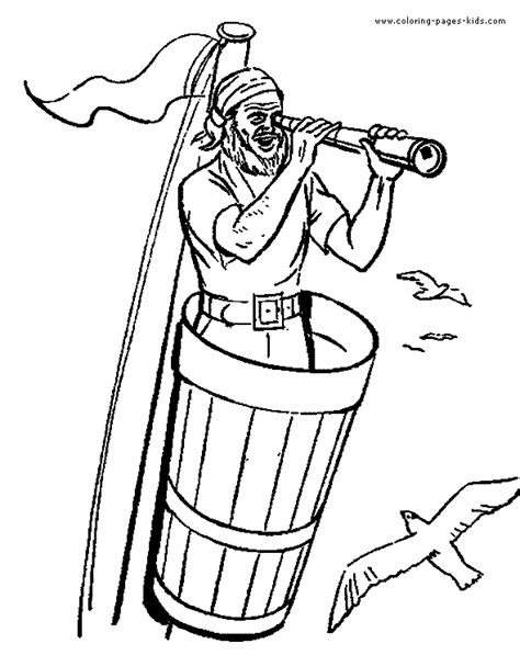 coloring pages of pirate hats pirate hat template coloring pages